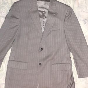 42L Nautica pinstriped wool blazer